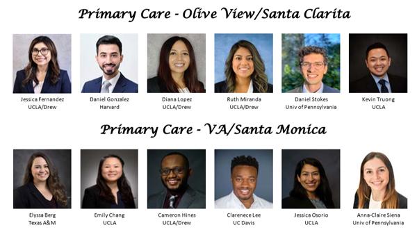 2021-22 Primary Care intern class