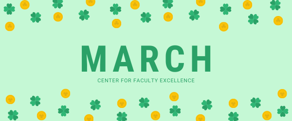 Decorative Image: Saint Patrick's Day March Banner