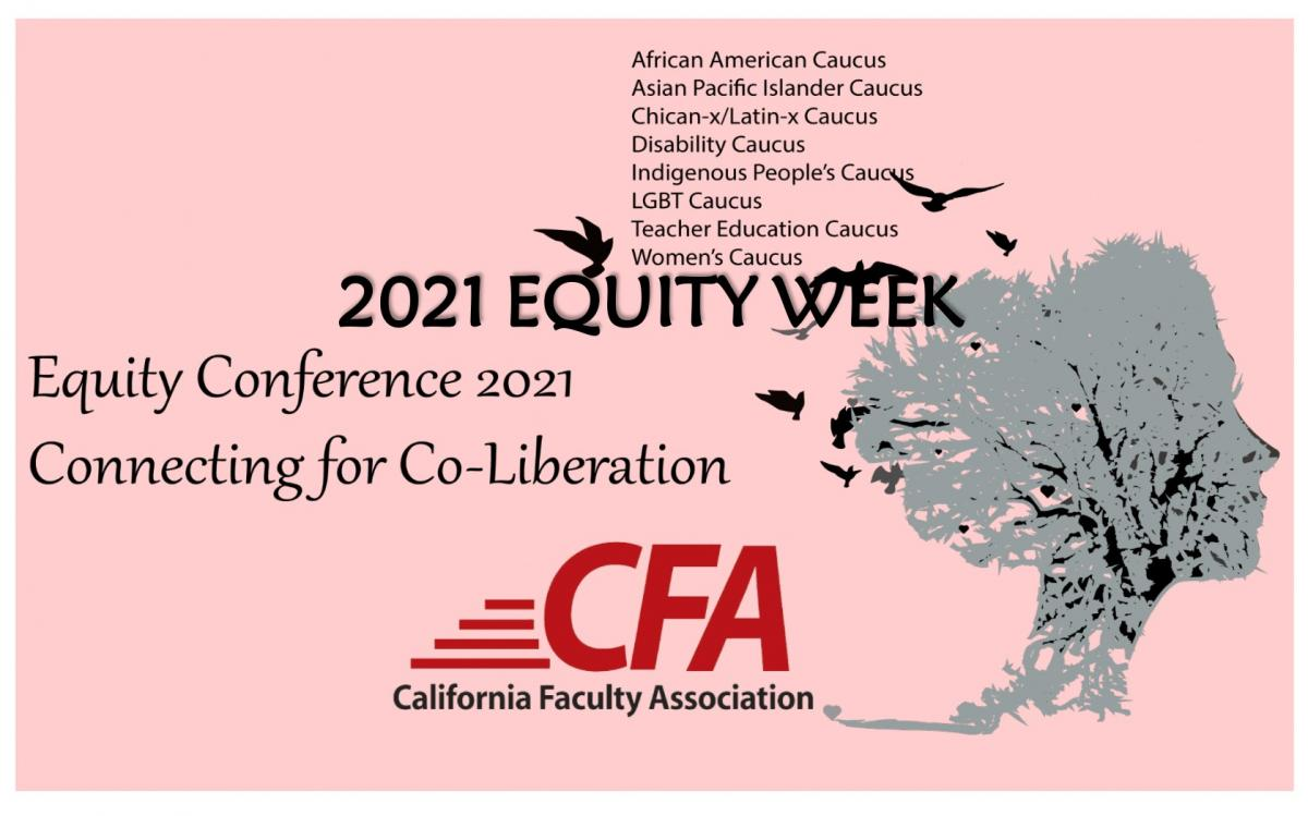 Decorative Image: Equity Conference 2021 Connecting for Co-Liberation