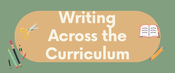 Decorative Image: Writing across the curriculum