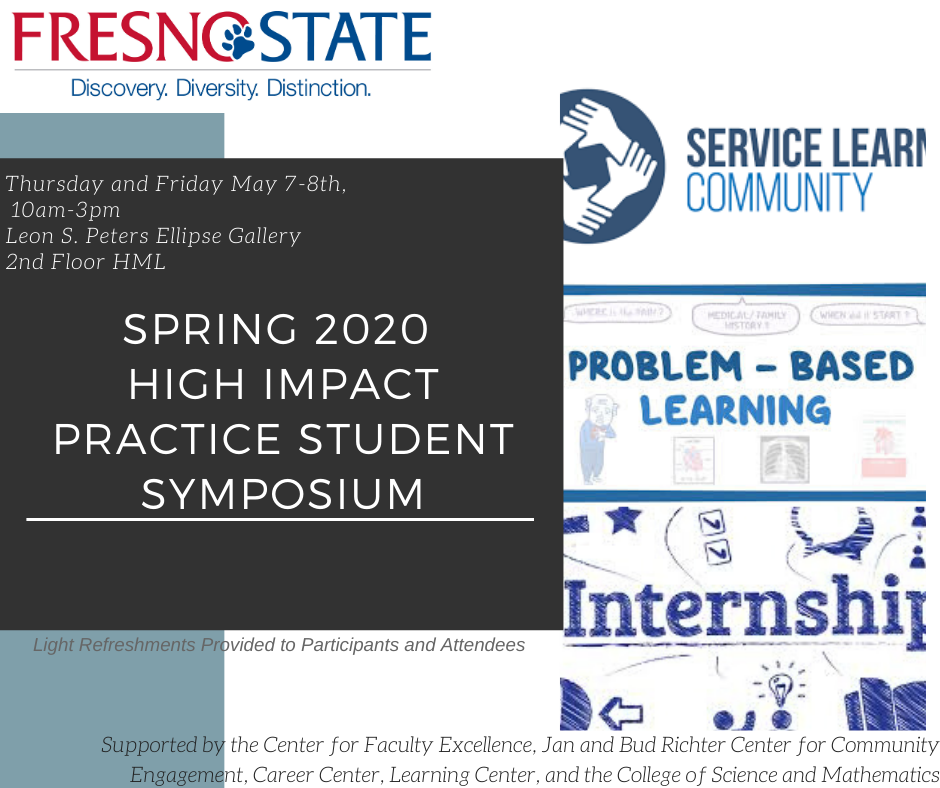 Spring 2020 High Impact Practice Symposium