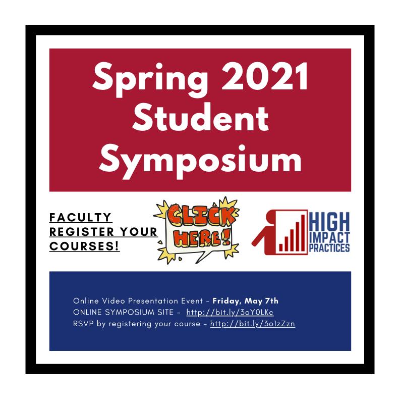 Decorative Image: Spring 2021 Student Symposium