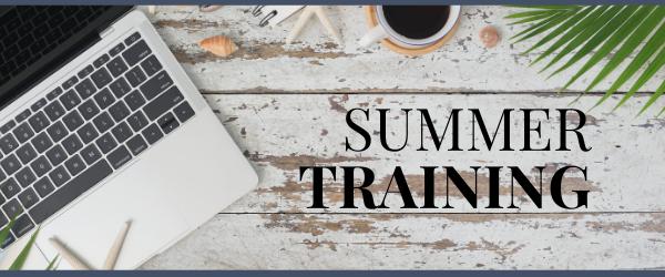 Summer Training Banner