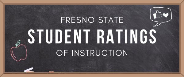 Decorative Image: Fresno State Student Ratings of Instruction