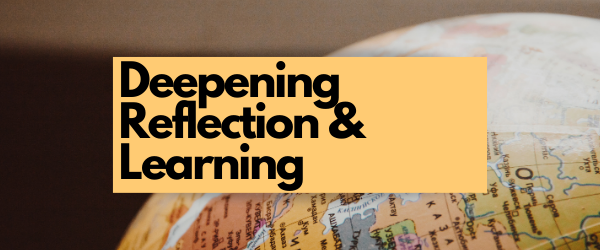 Decorative Image: Deepening Reflection and Learning
