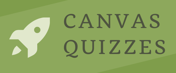 Decorative Image: Canvas Quizzes