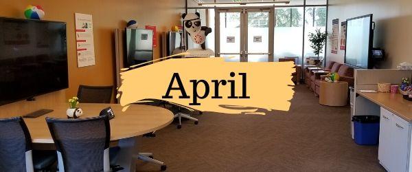 Decorative Image: April