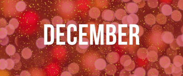 Decorative Image: December banner