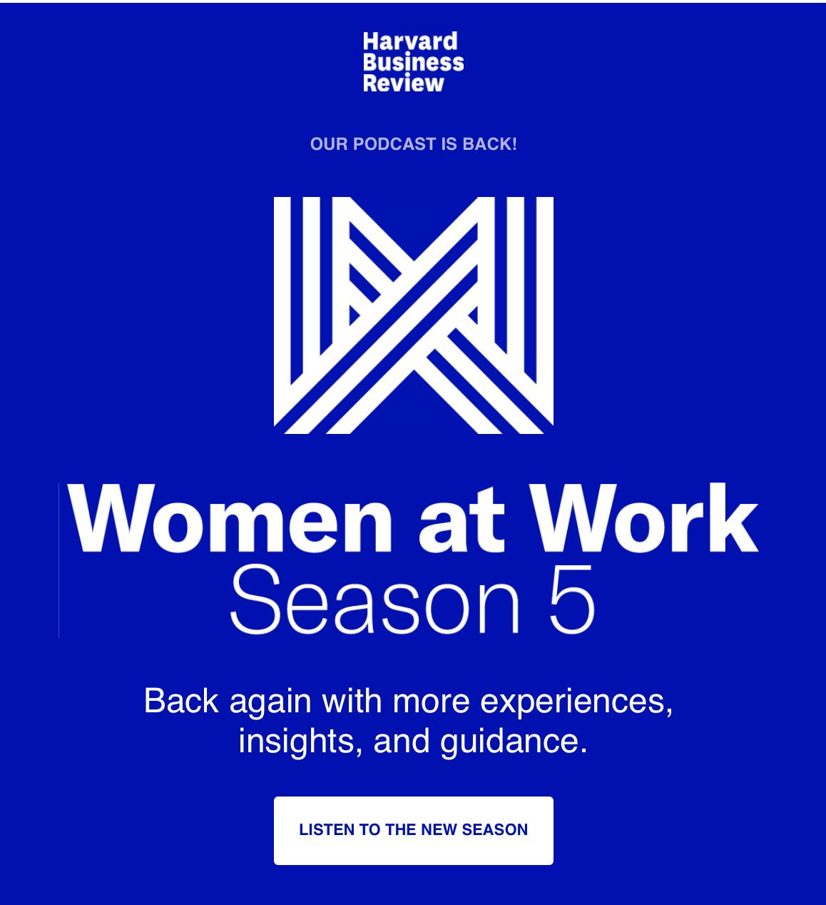 Podcast: Women at Work: Season 5