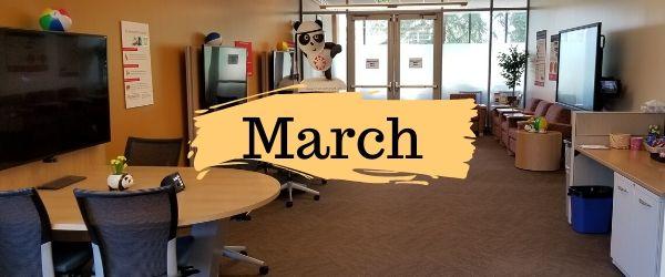 Decorative Image: March