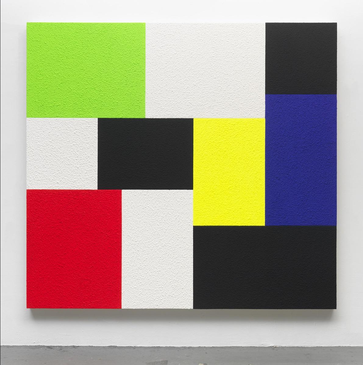 Peter Halley, The Choice, 2016, 183 x 198 cm, © Studio Peter Halley, photo DR. À voir au sein de l'exposition Milléniales. Peintures 2000 - 2020 du 25 sept 2020 au 3 janv 2021 au Frac Nouvelle-Aquitaine MÉCA.