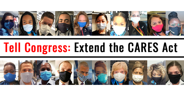 Tell Congress: Extend the CARES Act