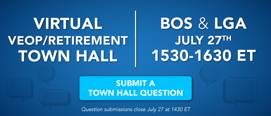 Submit a question for the BOS and LGA Virtual Town Hall