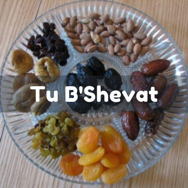 IMAGE: Tu B'Shevat Seder Plate