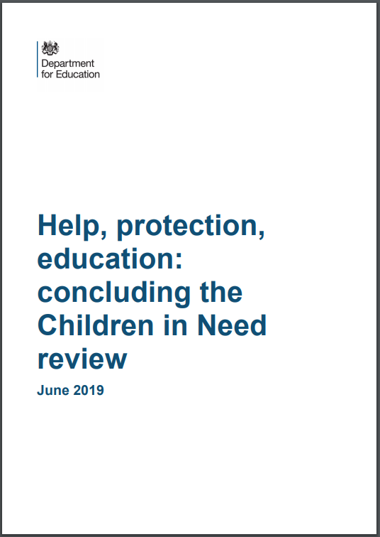 Children in need review cover