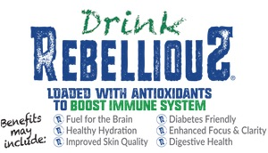 DrinkRebellious—Loaded with Antioxidants to Boost Immune Systems