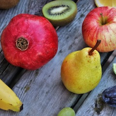 Pomegranate and Other Fruit by pasja1000 via Pixabay