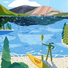 Blue Health Illustration by Kieran Blakeey