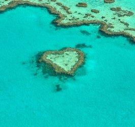 Heart Reef Australia by alicia3690 via Pixabay