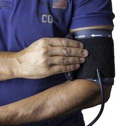 Blood Pressure Cuff on Man's Arm (geraldoswald62 via Pixabay)