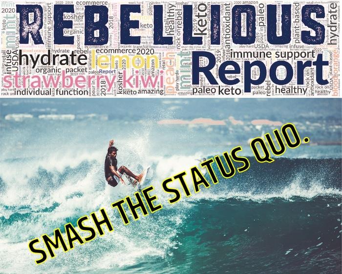 Male Surfer Cresting Large Wave