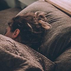 Sleeping Woman by Gregory Pappas via Unsplash