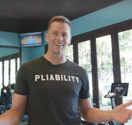 Tom Brady in Home Gym