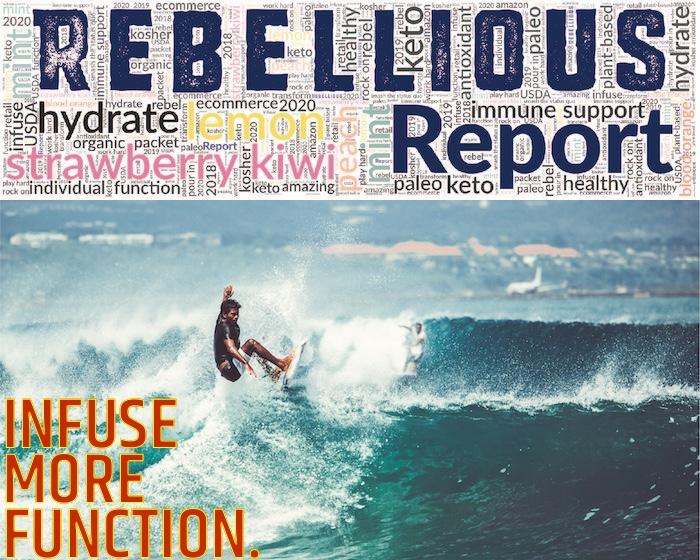 Surfer cresting large wave