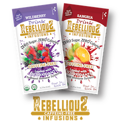 Two Flavors of Rebellious Caffeine-Free Infusions