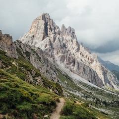 Trail Near Cima Ambrizzola