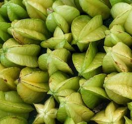 Large Group of Starfruit by Suanpa via Pixabay