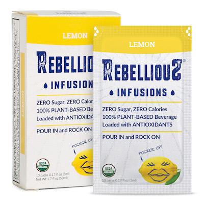 Infusions Lemon Box and Packet