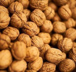 Macro Image of Walnut by Engin Akyurt (via Pixabay)