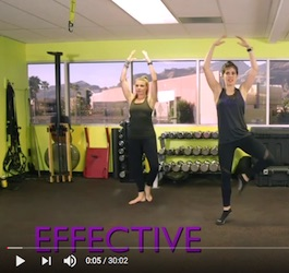 Two Woman Working Out in Gym/Studio
