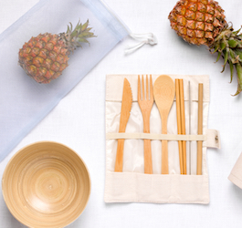 Reusable Items on White Table