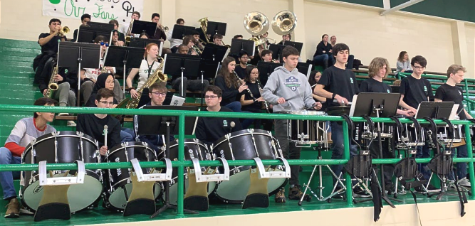 OH Pep Band in action