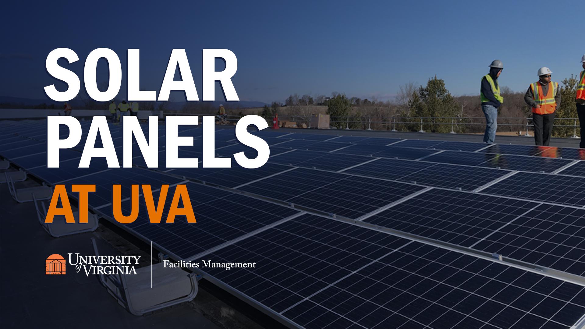 Solar Panels at UVA