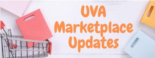 UVA Marketplace Updates with shopping cart