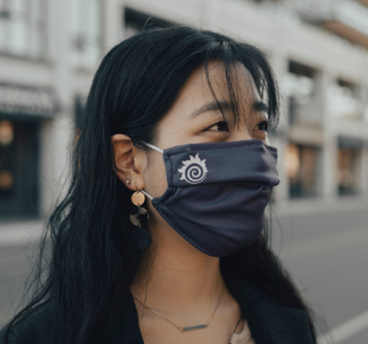 Fireball face masks available!