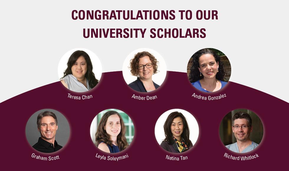 Leyla Soleymani among seven researchers recognized as University Scholars