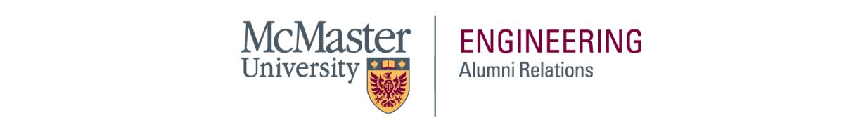 McMaster Engineering Alumni Relations