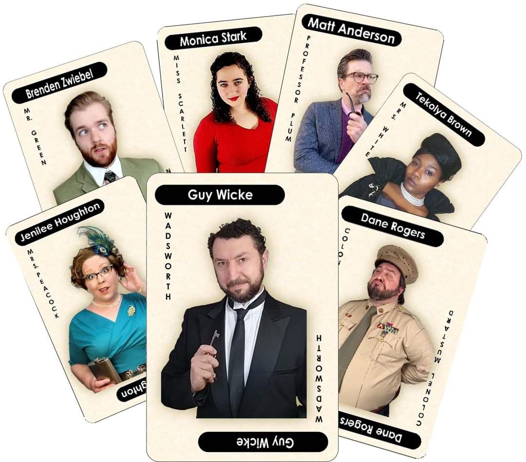 The cast of Clue: Stay-at-Home Version