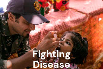Regina Rotary fighting disease