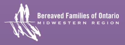 Bereaved Families logo
