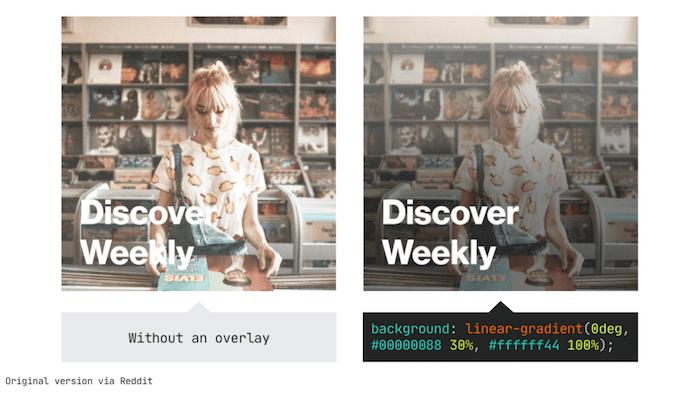 CSS linear gradient overlay