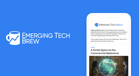 Stay Up To Date On Emerging Tech