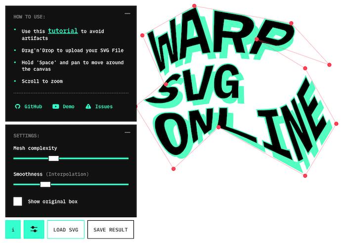 SVG Warping Generator