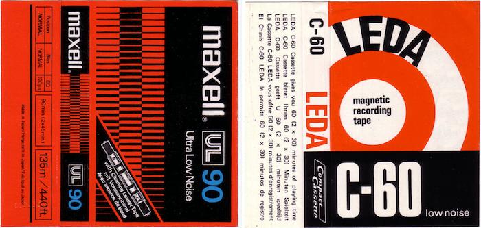 Tape Cassette Inserts