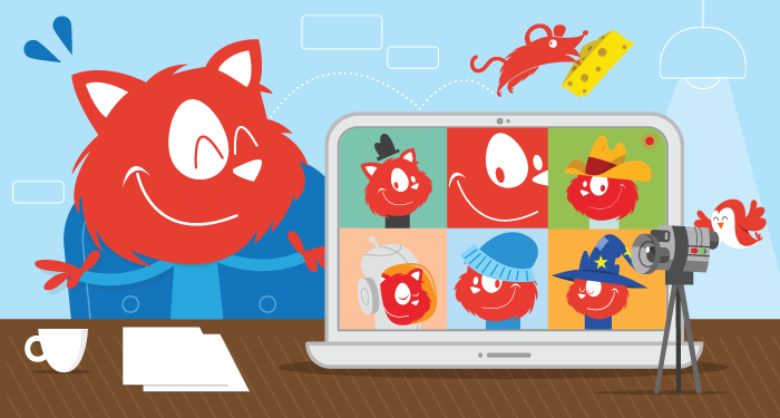 Upcoming online workshops with Topple the Cat, and its friends.