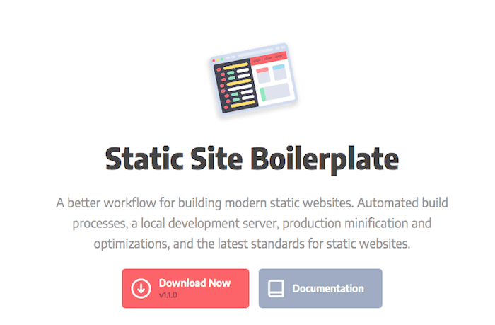 Static Site Boilerplate